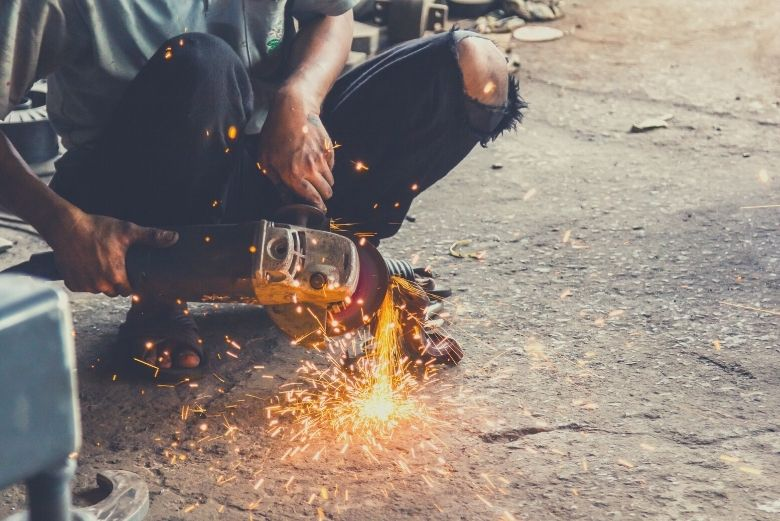 Best angle grinder for welders